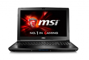 "Ноутбук MSI GL62 6QC-097RU (15.6"" LED, i5-6300HQ(2.3), 8Gb, 1Tb, DVDRW, GF940MX(2048), Cam, GLAN, WiFi, BT, CR, HDMI,  miniDP, USB2.0, 2USB3.0, W10, 2.3кг) 9S7-16J612-097"